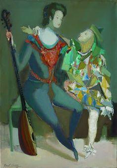 Pinturas del artista argentino Raúl Soldi