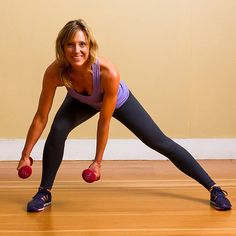 Step Right Into Side Lunges: Side lunges offer a new take on regular lunges.