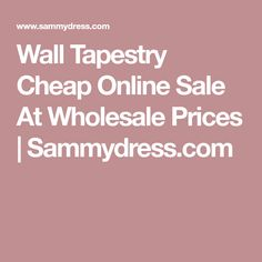 Wall Tapestry Cheap Online Sale At Wholesale Prices | Sammydress.com