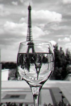 ...Paris in glass of wine...