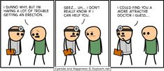 Cyanide and Happiness - Erection Trouble