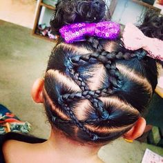 Hair Styles For Kids Braids for Kids - Braid Styles for Girls Natural Hairstyles For Kids, Kids Braided Hairstyles, Trendy Hairstyles, Black Hairstyles, Toddler Hairstyles, Short Haircuts, Teenage Hairstyles, Girl Haircuts, Braid Styles