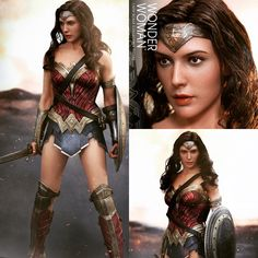 Hot Toys 1/6 scale Wonder Woman in Batman vs Superman: Dawn of Justice. She looks great!