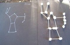 Make marshmellow star constellations and learn about astronomy