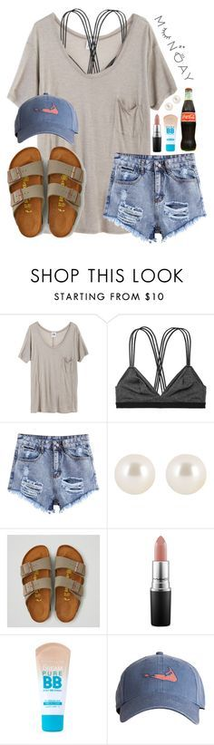 """Read d"" by lydia-hh ❤ liked on Polyvore featuring Mlle Mademoiselle, Victoria's Secret, Henri Bendel, American Eagle Outfitters, MAC Cosmetics, Maybelline and Harding-Lane"