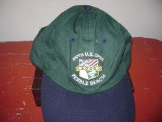 100th US Open Ball Cap/ Hat Pebble Beach USGA Member Cap Adjustable Strap #BaseballCap