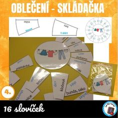 Oblečení - skládačka | LesyNápadů.cz Map, T Shirt, Supreme T Shirt, Tee Shirt, Location Map, Maps, Tee