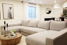 Our New Sectional from Interior Define | Chris Loves Julia