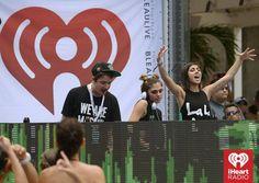 #Krewella #EDM #live #pumpupthecrowd #iHeartRadio — at Fontainebleau Miami Beach.