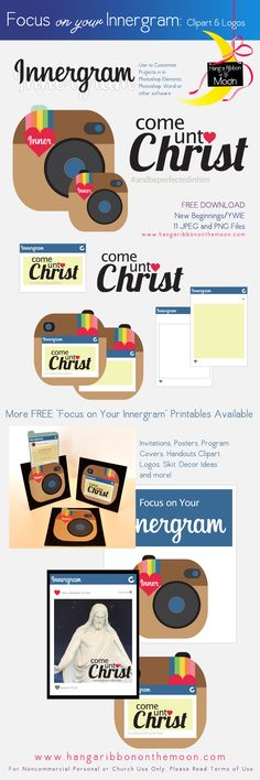 Focus on Your Innergram [New Beginnings, YWIE, Girls Camp, Youth Conference] Young Women Lessons, Young Women Activities, Youth Activities, New Beginnings Young Women, Lds, Youth Conference, Youth Group Games, Bible School Crafts, Personal Progress