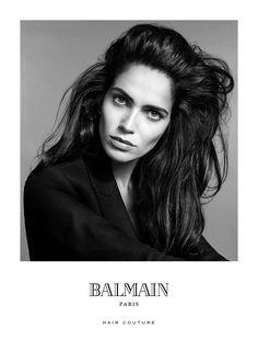 Balmain Hair Couture f/w'15/16. Amanda Wellsh by Terry Tsiolis