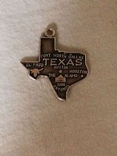 Sterling Silver Charm of Texas