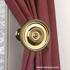 Looking for a #Curtain #Tieback to enhance your home?