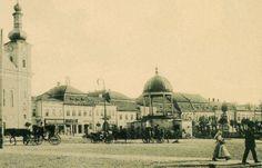 Plébánia,régi városháza,Bodor-kút,Kossuth szobor,1907. Taj Mahal, Building, Travel, Viajes, Buildings, Destinations, Traveling, Trips, Construction