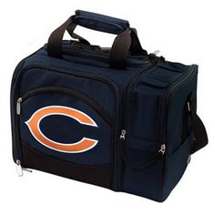 Chicago Bears Malibu Picnic Cooler Tote - Navy Blue  #Ultimate Tailgate #Fanatics