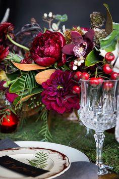 Fall wedding centerpiece:   #wedding #weddingflowers #weddingdecor