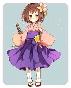 Day 30 –– Fem!Japan. I could pull it off if I cut my hair and styled it with bangs. Plus, I've always wanted to wear a kimono.