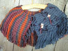 peg loom shawls 2012 001 by lmrichter, via Flickr