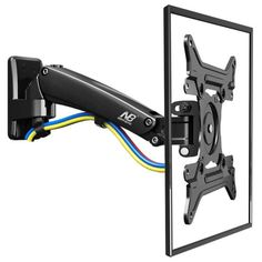 Today offers unique LCD TV wall bracket and computer monitor bracket that cater to your wall mounting needs for any type of LCD TV or monitors. Tv Wall Brackets, Tv Wall Mount Bracket, Wall Mounted Tv, Monitor Stand, Lcd Monitor, Television Set, Used Computers, Household Chores, Cable Management
