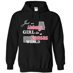 Design1 Just an Alabama Girl in Kansas world XMAS