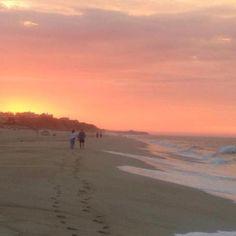 Sunrise at Montauk Beach