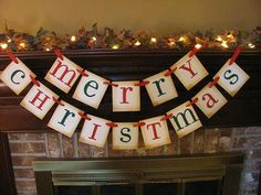 Christmas Banner Merry Christmas Red and by inspirationalbanners