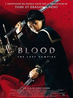 Blood - The Last Vampire - Affiche France