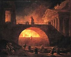 64 AD: Great Fire of Rome ... [ita] http://www.romeandart.eu/it/arte-roma-brucia.html
