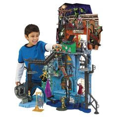 Teenage Mutant Ninja Turtles Secret Sewer Lair Playset with Sound : Target