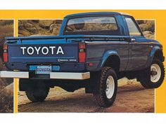Classic 4X4  1993 Toyota Truck in BLUE!  First four wheel drive truck that I owned. Took me into my retirement.