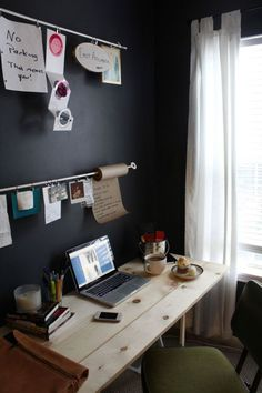 Home Office Inspiration Interior Desing, Home Interior, Interior And Exterior, Office Deco, Desk Layout, Desk Setup, Sweet Home, Office Workspace, Office Spaces