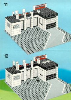 LEGO 6386 Police Command Base instructions displayed page by page to help you build this amazing LEGO Police set Lego City Police, Police Police, Classic Lego Sets, Classic Building, Lego Storage, Cool Lego Creations, Lego Design, Lego Projects, Lego Instructions