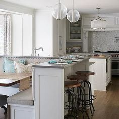 1000 ideas about kitchen booth table on pinterest for Booth kitchen island