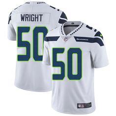 Nike Seahawks #50 K.J. Wright White Men's Stitched NFL Vapor Untouchable Limited Jersey