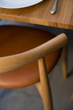 CH20 Elbow Chair Ek Matstol | Carl Hansen & Son | Länna Möbler | Handla online