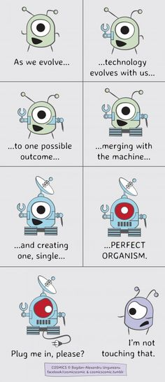 Merging with the Machine.