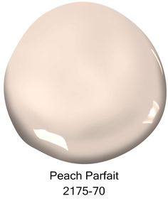 The Top 10 Best-selling Benjamin Moore Paint Colors. Peach Parfait, Courtesy of Benjamin Moore. These shades are sure to inspire your next room makeover Bathroom Paint Colors, Kitchen Paint Colors, Exterior Paint Colors, Paint Colors For Living Room, Paint Colors For Home, Exterior Design, Peach Paint Colors, Paint Colours, Wall Colors