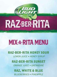 Game Day cocktail recipes with bud light's razberita #donatellaStyle #kingshawaiian