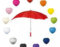Paraplu in hartvorm #paraplu #hartvorm #bedrukken