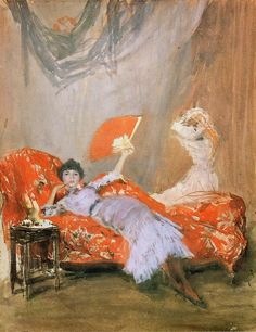 art-centric: Milly Finch, 1884 James McNeill Whistler