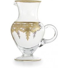 Arte Italica Vetro Gold Pitcherhttp://lizann.myshopify.com/collections/hanukkah/products/arte-italica-vetro-gold-pitcher