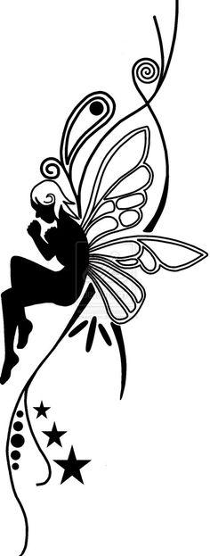fairy outline