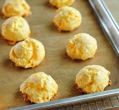 How to Make Cheese Gougeres