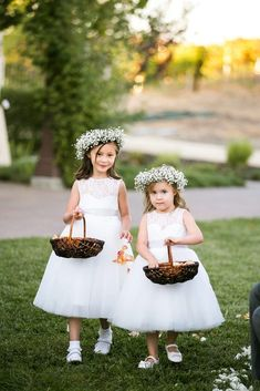 Rustic Chic Wedding at the Martinelli Center Flower Girl Ideas Center Chic Martinelli rustic Wedding Tulle Flower Girl, Wedding Flower Girl Dresses, Bridesmaid Flowers, Bridal Flowers, Flower Girls, Flower Girl Updo, White Flower Girl Dresses, Bridesmaid Gowns, Flower Crowns