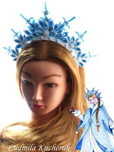 image (1260×1680) How To Make Headbands, Making Hair Bows, How To Make Bows, Ribbon Art, Ribbon Crafts, Ribbon Bows, Kanzashi Tutorial, Lace Crowns, Diva Design
