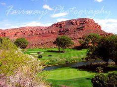 Red Hills Golf Course in St. George Utah Photo - Brian Oar