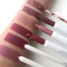 Colourpop Ultra Matte lips, Lippie Stix, and Lippie Pencils  pinterest: @rosajoevannoy