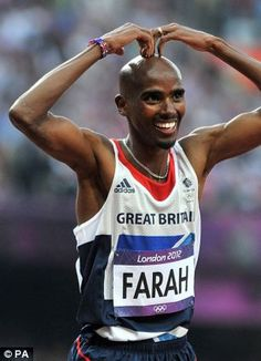 Mo Farah: 10,000m and 5,000m GOLD!!!! London olympics 2012