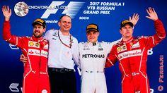 """Arrivabene: """"Seb y Kimi han demostrado su altísimo nivel""""  #F1 #Formula1 #RussianGP"""