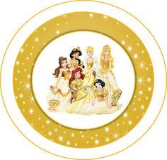 Kit Princesas Disney para Imprimir Gratis.